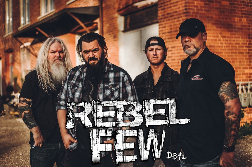 Rebel Few band, Barry Martin, Chris Raposo, Jordan Malcolm, Mark Johnston